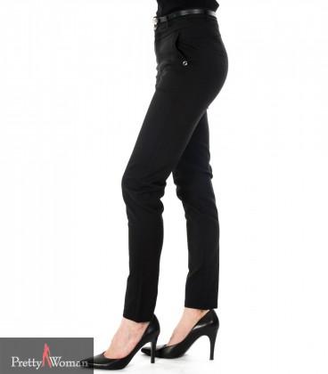 5025 Mustad püksid vööga