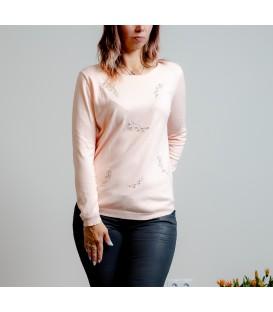 3084 Džemper pärlitega-helesinine